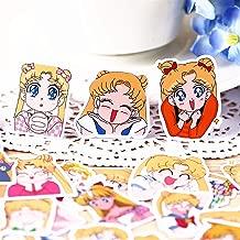 33pcs Creative Cute Self-Made Japanese Sailor Moon/Rabbit Scrapbooking Stickers/Decorative Sticker/DIY Craft Photo Albums