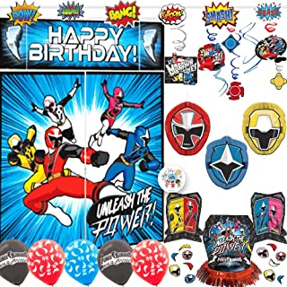 power ranger decorations party city