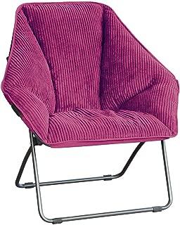 Zenithen Limited Hexagon Folding Chairs (Pack of 1, Plum)