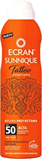 Ecran Sunnique Tattoo, Bruma Solar para Pieles con Tatuajes, con SPF50 - 250 ml