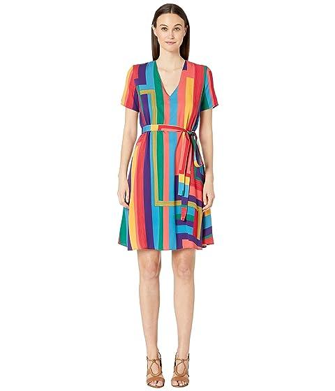 Paul Smith Striped Wrap Dress