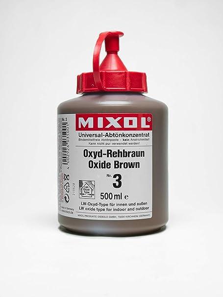 MIXOL # 1 - Concentrado universal (500 ml), color negro