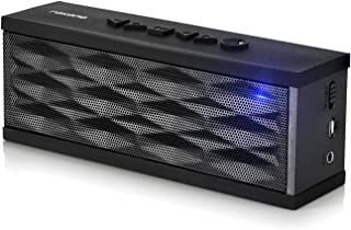 Rokono F200 Bluetooth Speaker with Long Playtime, Dual Precision Drivers, Wireless Speakers with Low Harmonic Distortion a...