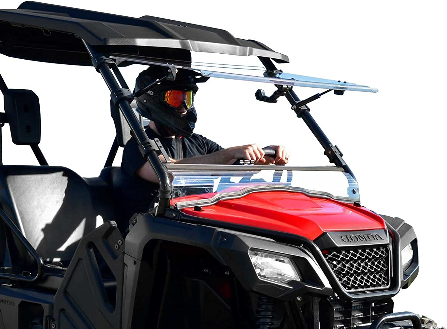 Seattle Mall SuperATV Heavy Duty Scratch Resistant 20 New product type 3-1 for Flip Windshield