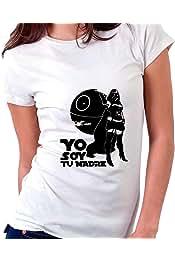Custom Vinyl Camiseta Dia de la Madre La Madraza Blanca, S - Normal