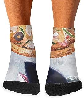 Mens athletic low cut Ankle sock Palm Flamingos life Casual Short Socks