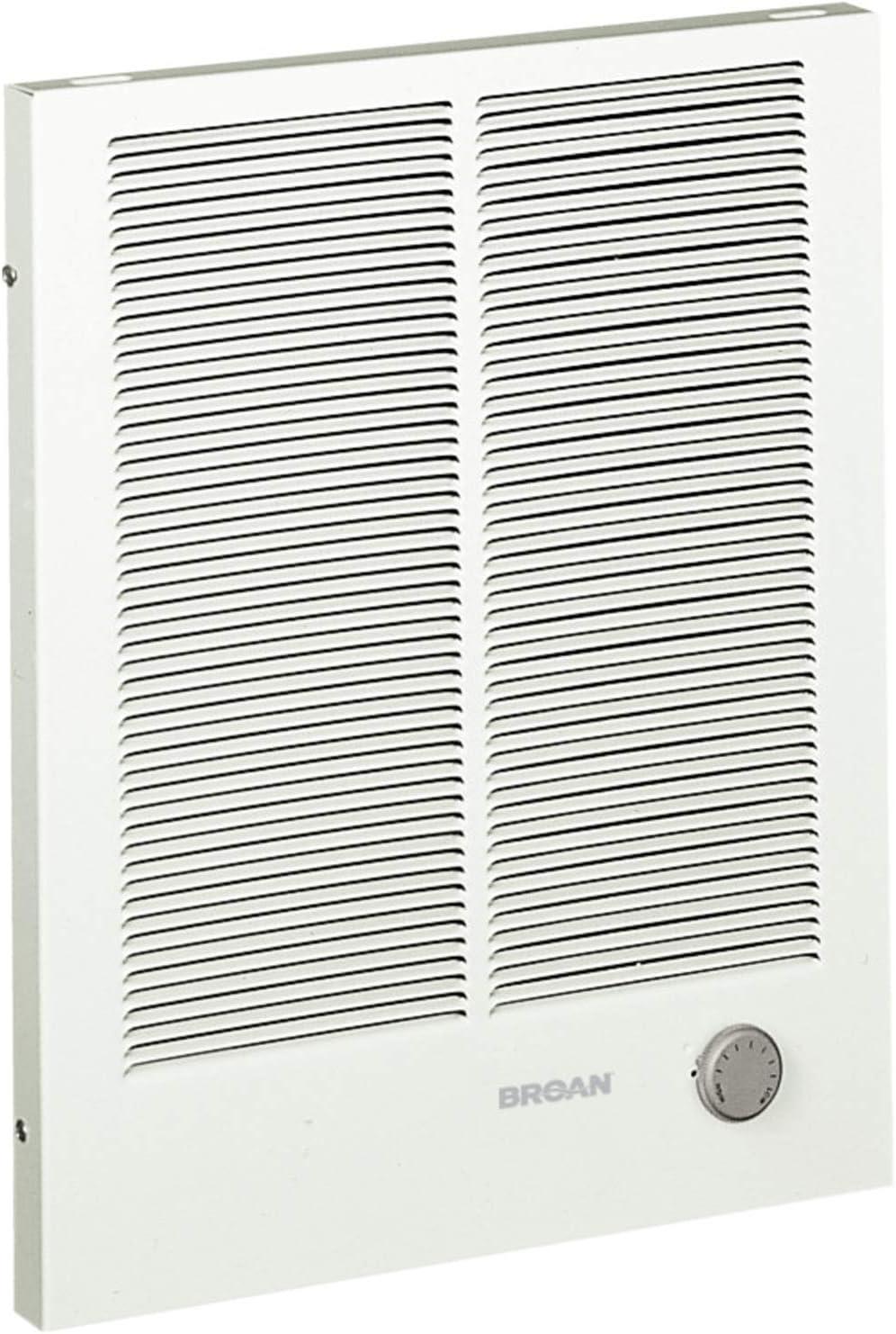 Amazon.com: Broan-NuTone 194 High Capacity Wall Heater, White Painted  Grille, 3000/1500 Watt 240 VAC, 1500/3000: Home ImprovementAmazon.com