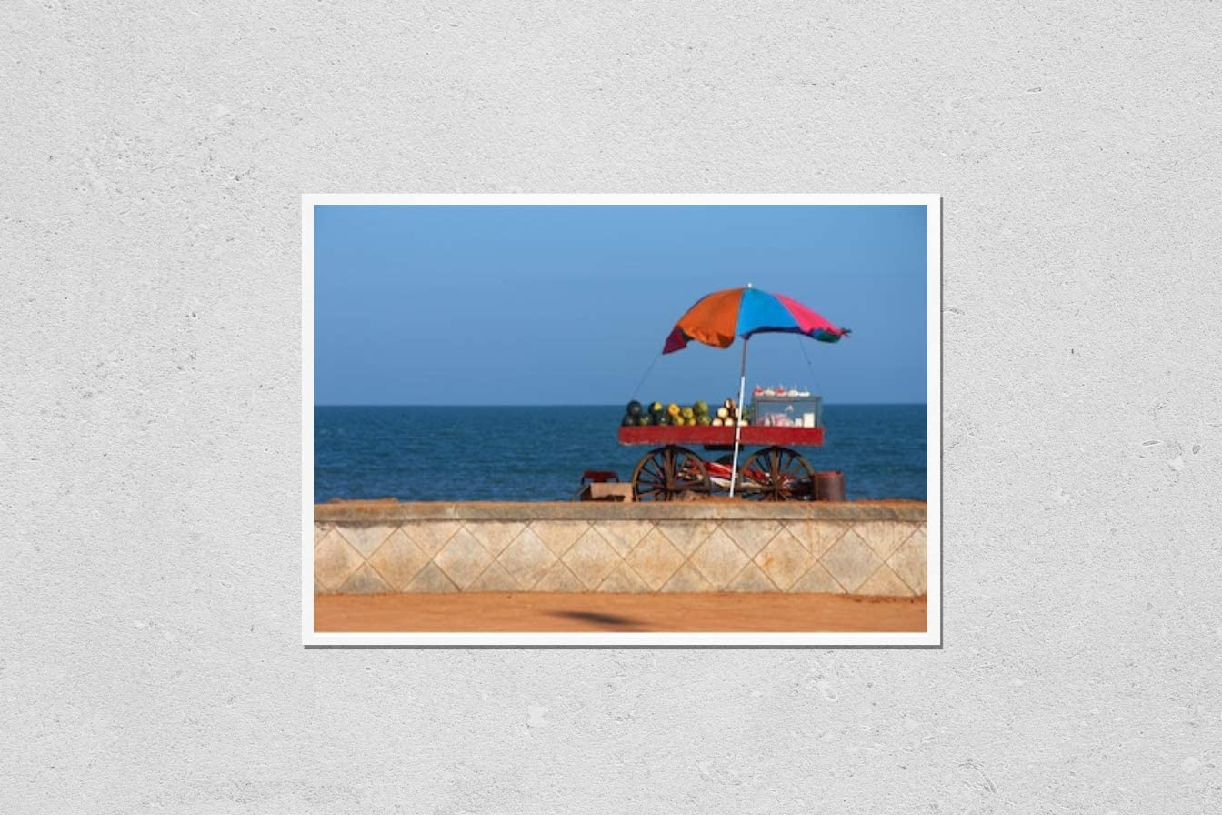 KwikMedia Poster Reproduction of seafront Online limited Bargain product vendor's cart View
