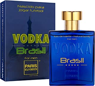 Vodka Brazil Blue Perfume para hombre Eau de Toilette Paris Elysees