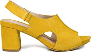 864fdef5 Zapatos miMaO. Zapatos Piel Mujer Hechos EN ESPAÑA. Zueco Tacón Mujer.  Zuecos Verano