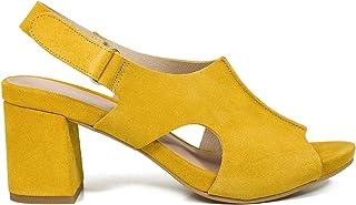 61633d01 Zapatos miMaO. Zapatos Piel Mujer Hechos EN ESPAÑA. Zueco Tacón Mujer.  Zuecos Verano