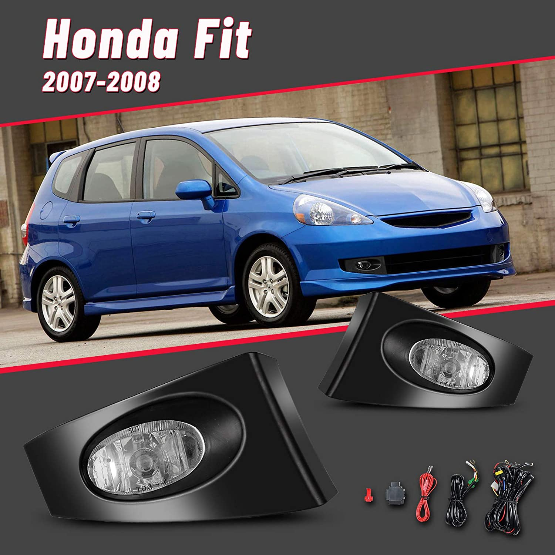 Fog Lights for 2007 2008 Honda 予約 Fit H11 値引き Bulbs 55W with AUTOFR 12V