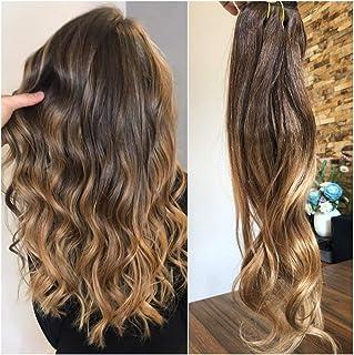 Extensions cheveux keratine ondule