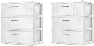 Best white 3 drawer plastic storage Reviews