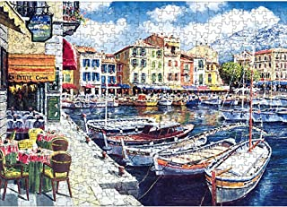 Jigsaw Puzzles for Kids & Adult - 1000 Pieces Harbor Puzzle - DIY Puzzle Toy - Family Funny Decompression Games (12inx17in)