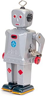 Schylling Sparkling Mike Robot, Grey