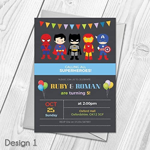 Personalised Party Invitations Amazoncouk
