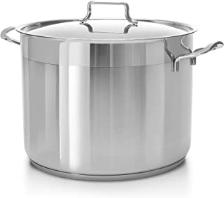 concord 60 quart stainless steel stock pot cookware