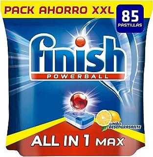 comprar comparacion Finish Powerball All in 1 Max - Pastillas para el lavavajillas todo en 1 - limón - formato 85 unidades