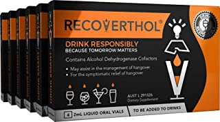 """Recoverthol 6 Pack""""Responsible Host"""" (24 Doses)"""