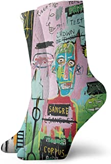 Jean Michel Basquiat - Calcetines informales, suaves, transpirables, unisex