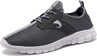 Men's Running Shoes Fashion Women's Sneakers Fitness Shoes Casual Mesh Soft Sole Lightweight Breathable