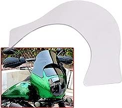 Bid4ze Clear Motorcycle Lip Windshield Windscreen Quarter Fairing For Harley Sportster XL 883 1200 Dyna FX Softail