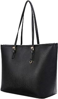 COOFIT Damen Handtasche, Handtasche Damen Schwarz Umhängetasche Leder Schultertasche Bowknot Crossbody Tasche Tote Handtaschen
