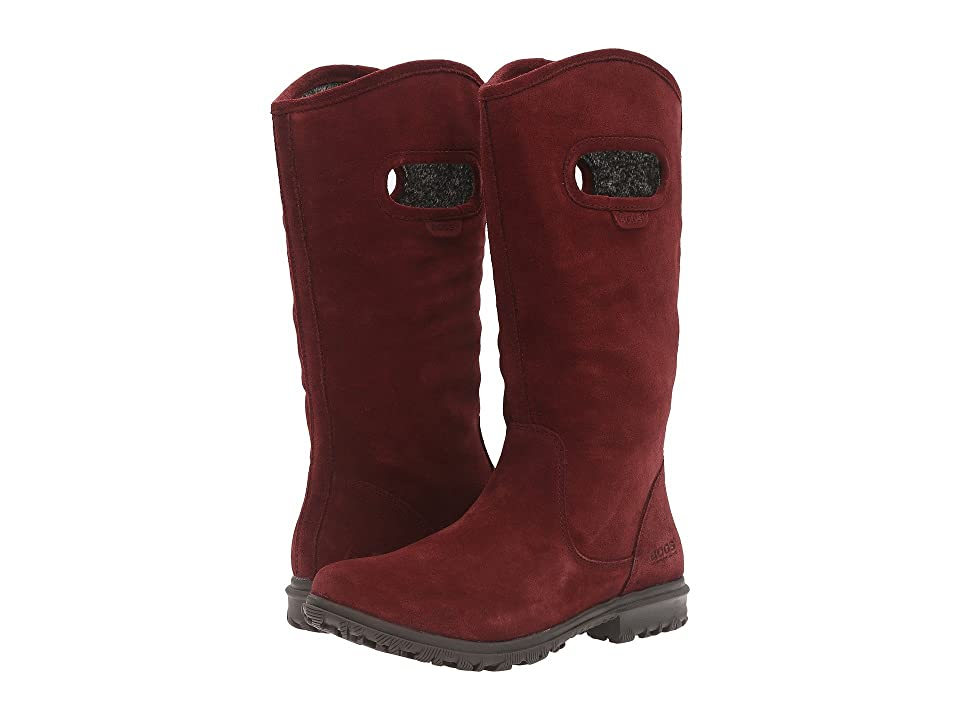 Bogs Betty Tall (Ox Blood) Women