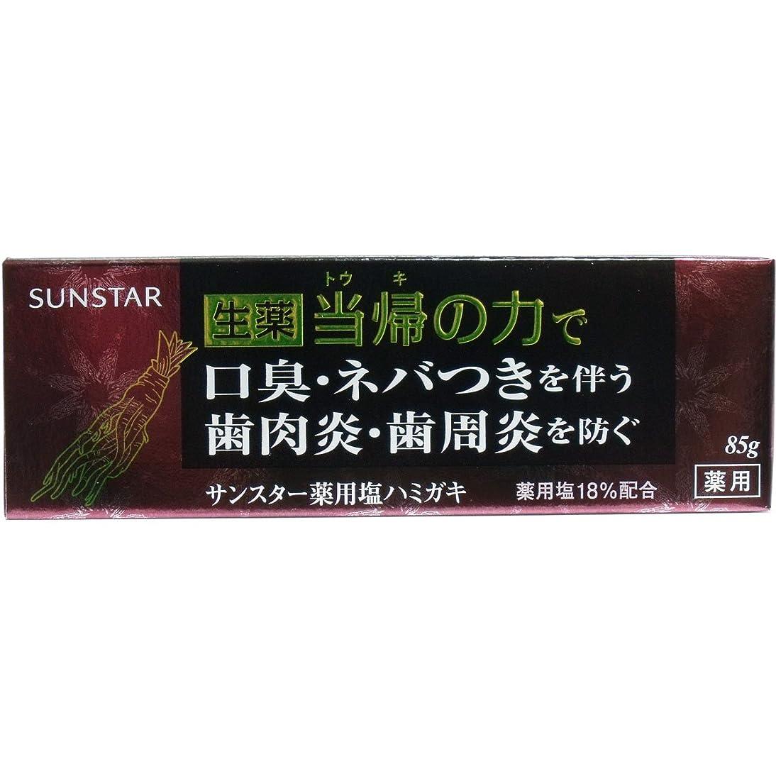 コンテストサミット調子【まとめ買い】サンスター 薬用 ハミガキ 生薬 当帰の力 85g ×2セット