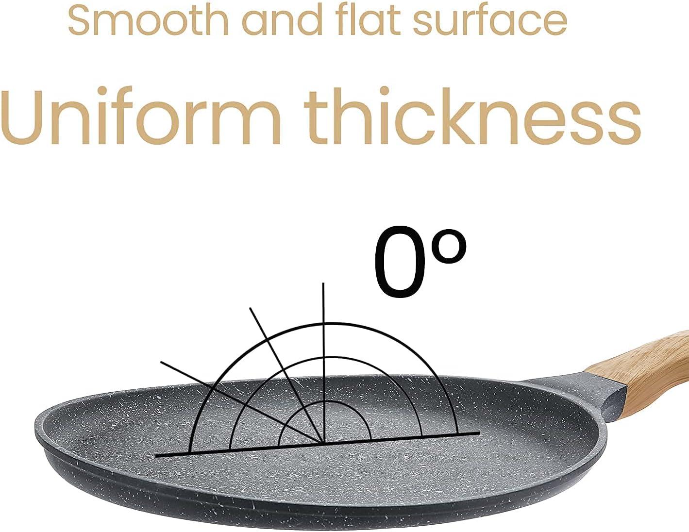 Crepe Pans MIUGO Nonstick Crepe Pan,Dosa Tawa,Pancake Pan,Frying ...