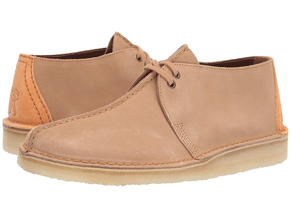 Clarks Desert Trek (Light Tan Suede) Men