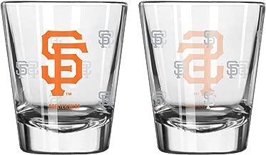 Boelter Brands MLB Los Angeles Angles Satin Etch Shot Glass Set