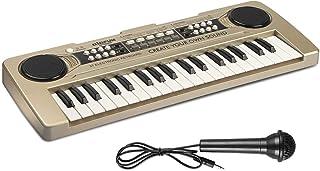 AIMEDYOU 37 Keys Kids Piano Keyboard Portable Electronic Musical Instrument Multi-Function Music Keyboard Early Learning E...