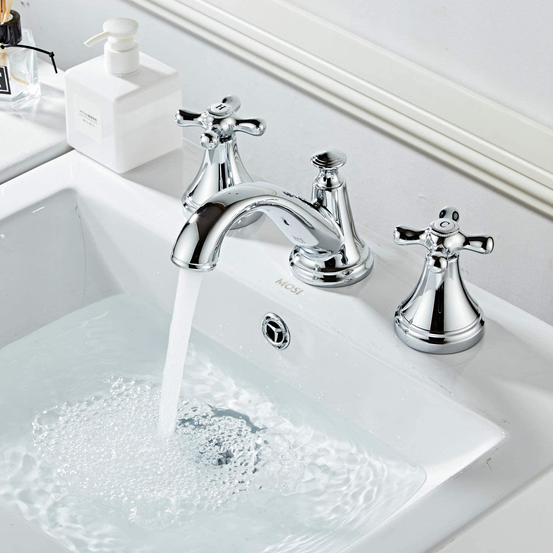 Kelelife KF3050 - Grifo de baño (3 orificios)