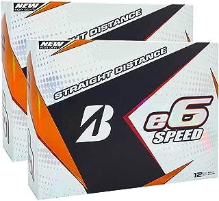 Bridgestone e6 Speed Golf Balls - Double Dozen