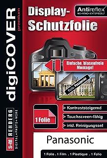 digiCOVER Premium/Antireflex Displayschutzfolie für Panasonic DMC TZ71 / TZ 81/ TZ101