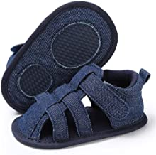 Infant Baby Boys Girls Summer Sandals Soft Sole Anti-Slip Toddler First Walkers Newborn Crib Shoes