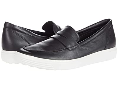 ECCO Soft 7 Loafer (Black) Women