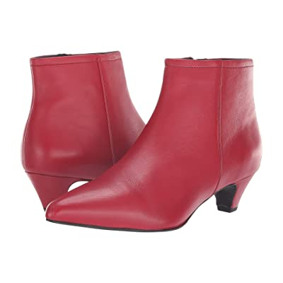 Seychelles Biome Bootie (Red Leather) Women