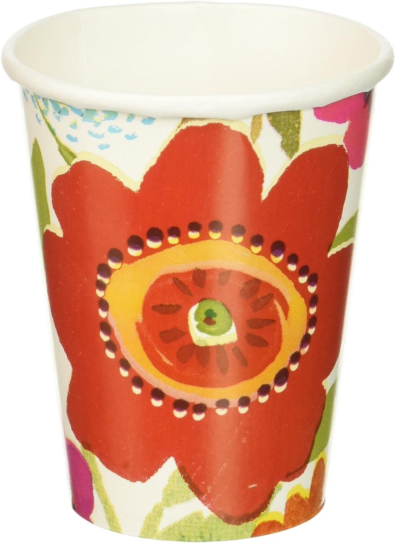 Floral Splash Paper Cups 9 Ounce 8 Pkg CUP989479