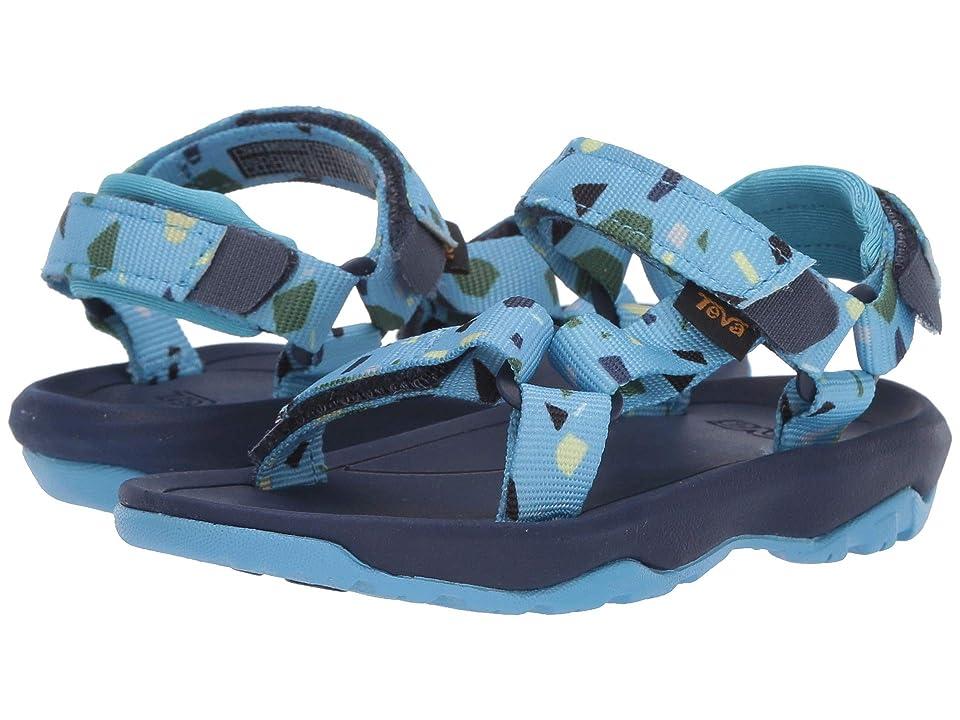 8f45412646af Teva Kids Hurricane XLT 2 Print (Toddler) (Terrazo Print Blue) Boys Shoes