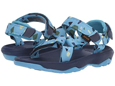 Teva Kids Hurricane XLT 2 Print (Toddler) (Terrazo Print Blue) Boys Shoes
