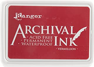 Ranger AIP-30461 Archival Inkpad, Vermillion
