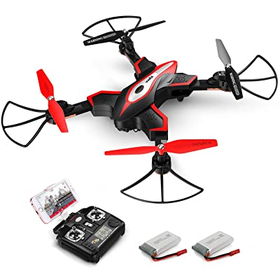 Foldable Drone, SYMA X56W RC Quadcopter with Ca...