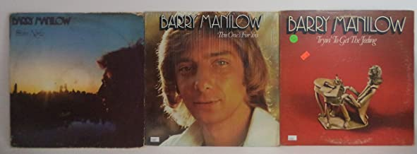 Barry Manilow Lot of 3 Vinyl Record Albums Even Now and more