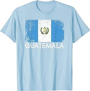 Guatemalan Flag T-Shirt | Vintage Made In Guatemala Gift