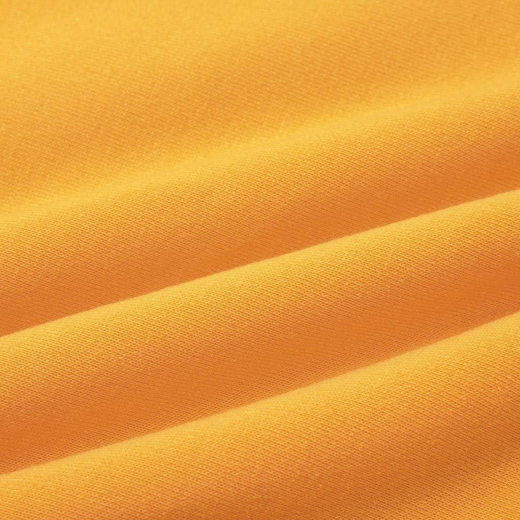 Achruor Kapuzenpullover Damen Hoodies Mädchen Jungen Pullover Teenager Winter Herbst Fashion Herz Mustern Langarmshirts Mit Kapuzen Oberteile Sweatshirts Gelb2