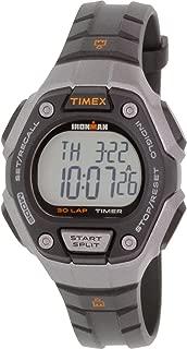 Timex Women's Ironman TW5K89200 Black Rubber Quartz Sport Watch