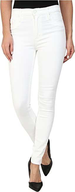 Hudson - Barbara High Waist Skinny in White